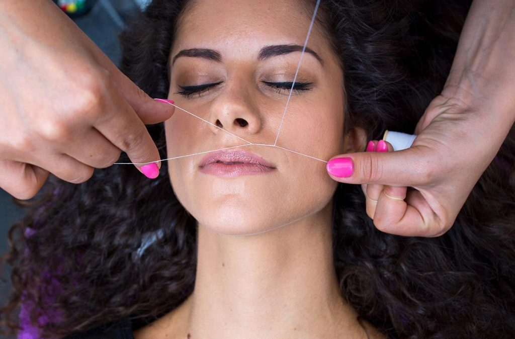 Best method to remove facial hair at home